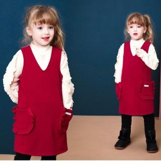 Váy gile nỉ lót lông JS. HA1791 (2 màu)