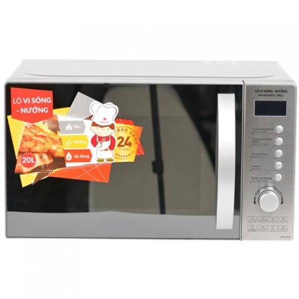 Lò vi sóng điện tử (có nướng) 20 lít Happy Cook HCM-20DM