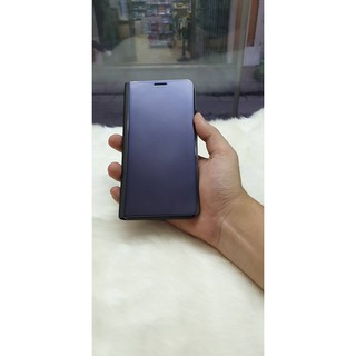 Bao Da Clear View Cover Standing Samsung Note 5