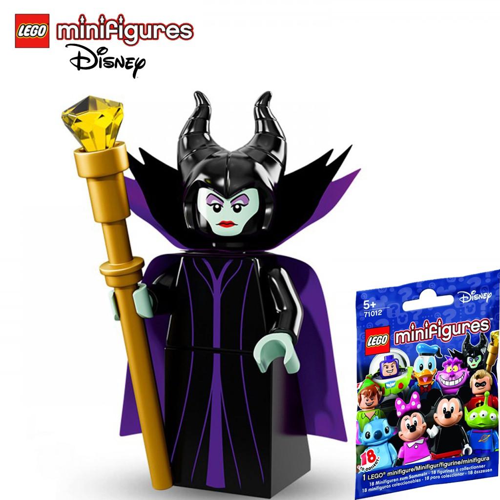 Nhân Vật LEGO Minifigures Bà Tiên Ác Maleficent 71012 Disney Series 1 – LEGO Chính Hãng Đan Mạch