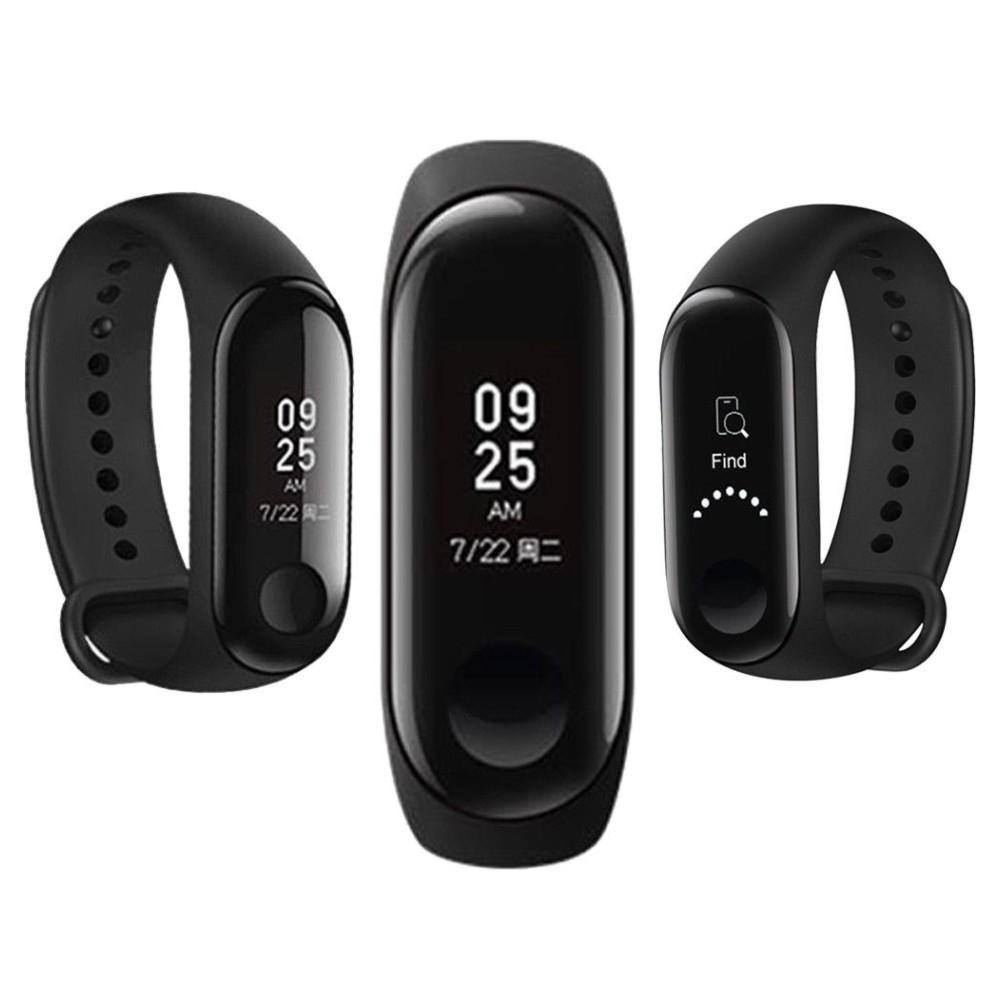 Vòng đeo tay thông minh Xiaomi Mi Band 3, Miband3, Mi band3 (Đen) - Hàng chính hãng