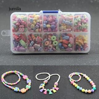 Hạt nhựa nhiều màu sắc dùng làm đồ trang sức thủ công thumbnail