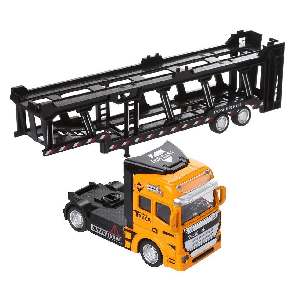 🎈lindsayll🎈 1:48 Pull Back Alloy Super Truck Vehicle Simulation Model Car Toy for Children