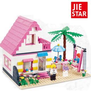 Đồ chơi lắp ghép mô hình ngôi nhà gồm 383 chi tiết dành cho trẻ em