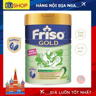 Sữa bột Friso Gold Nga với DHA ARA phát triển trí não và thị lực cho trẻ Số 02 Hộp 800G thumbnail