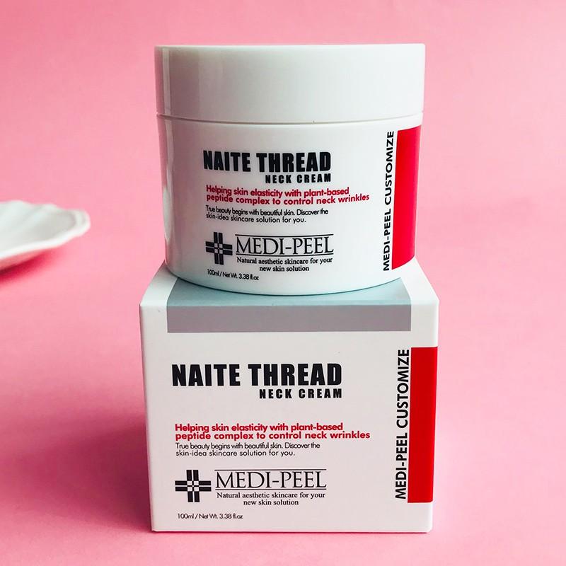 Medi-Peel Naite Thread Neck Cream 100ml ครีมบำรุงผิวบริเวณลำคอ