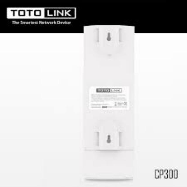 [Mã 267ELSALE hoàn 7% đơn 300K] Giải pháp wifi lên đến 3km Totolink CP300
