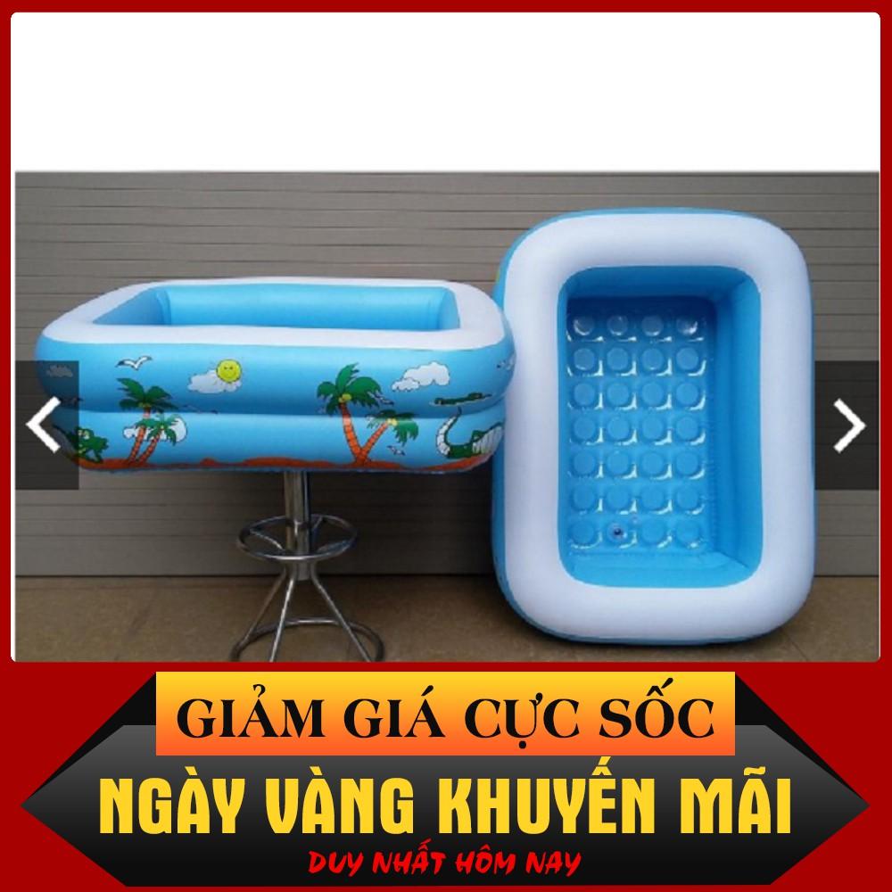 GIÁ TỐT – Bể bơi phao bơi 💖FREESHIP💖 Bể bơi phao – 1m2 2 tầng (TẶNG BỘ VÁ PHAO)- hàng loại 1