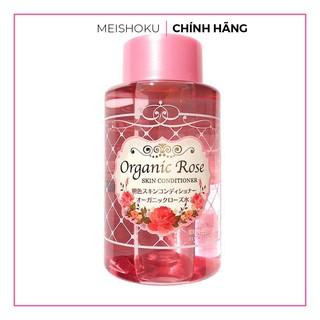 Nước hoa hồng dưỡng da Organic rose skin conditioner 200ml Meishoku