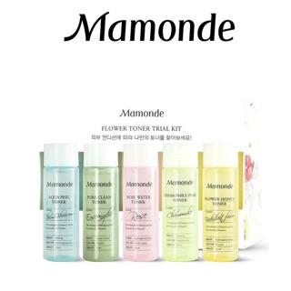 Bộ 5 Chai Nước Hoa Hồng Mamonde Trial Kit - Set Toner Mamonde thumbnail