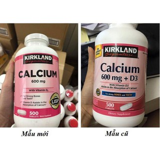 Viên uống Calcium 600mg +D