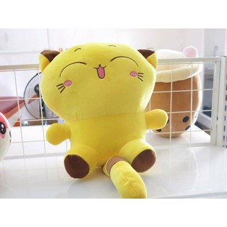 Sỉ Giá Xưởng Thú Bông Mèo Vàng, Mèo Bông Vàng Siêu Dễ Thương Mềm Êm Mịn( Ảnh Thật) thumbnail