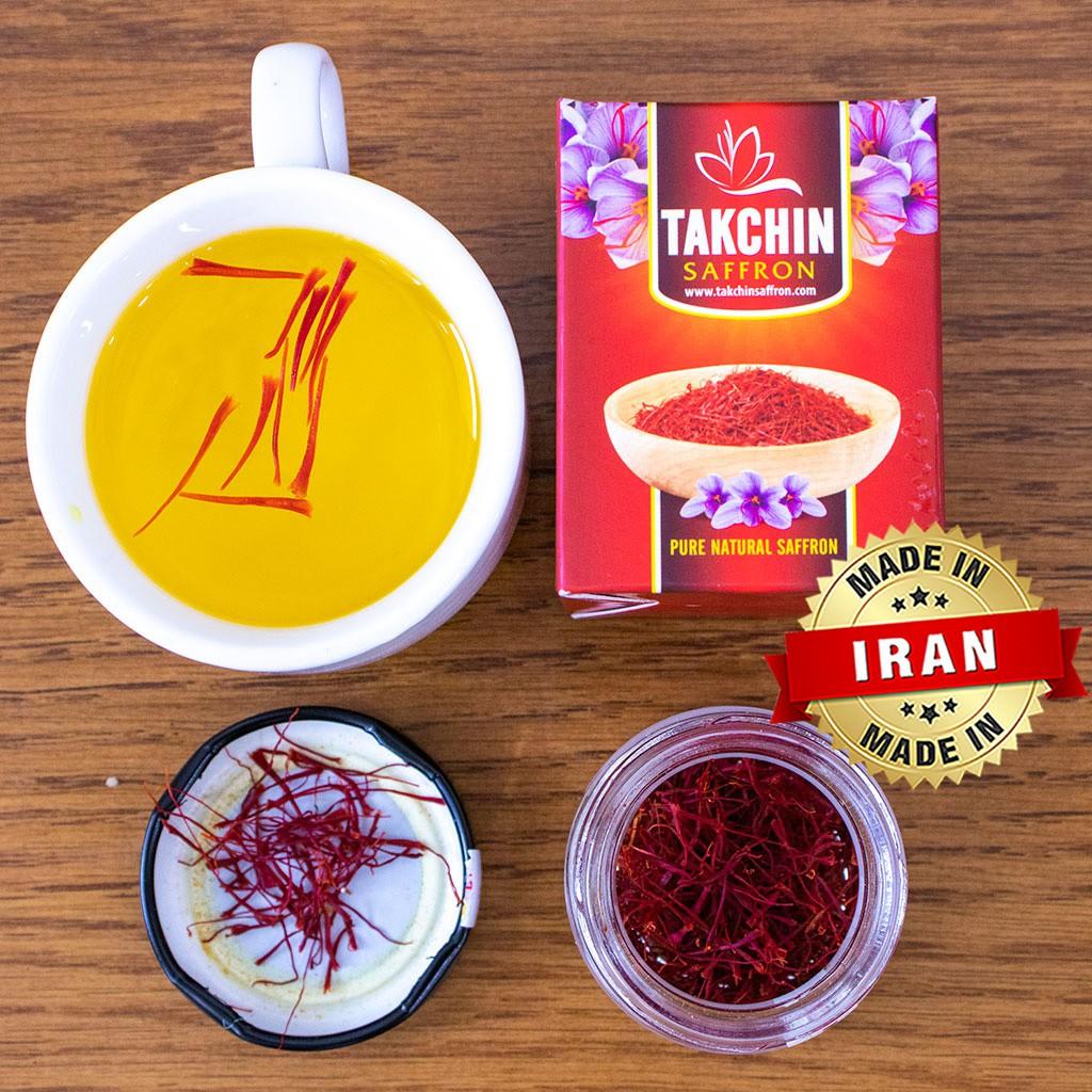 Nhuỵ Hoa nghệ Tây Saffron Takchin [ Chính Hãng - Nhập Khẩu IRAN ] Nhuỵ Hoa nghệ Tây Saffron Takchin [ Chính Hãng - Nhập Khẩu IRAN ]