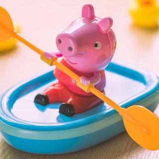 MPVC- Chú heo Peppa Pig chèo thuyền chạy bằng dây cót cho bé