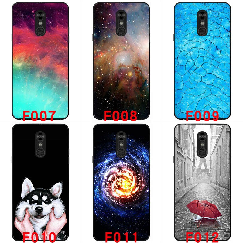 For LG stylo4 Soft silicon phone cases Painted back cover
