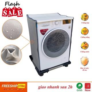 Vỏ Bọc Máy Giặt Cửa Ngang, chống mưa nắng (100% da cao cấp)