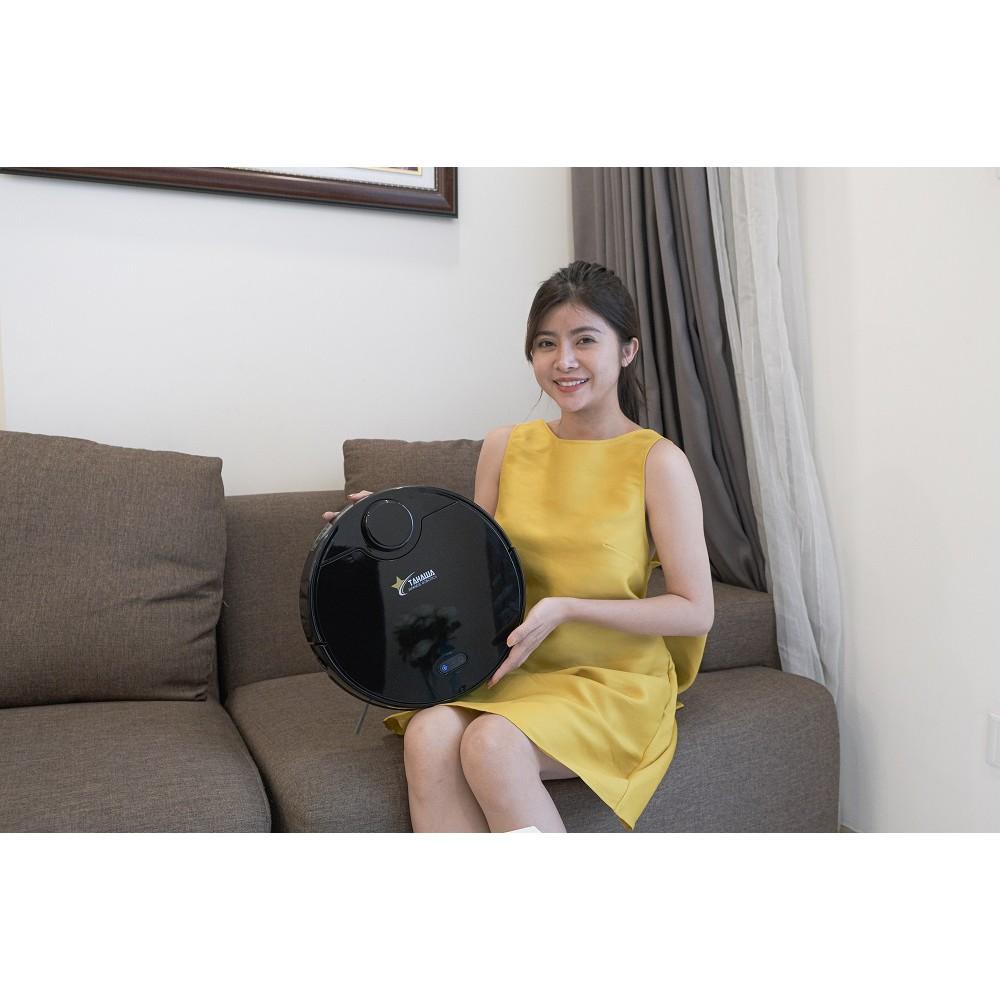 Robot hút bụi lau nhà thông minh Tahawa Nhật Bản TH - 06Plus-Dành cho chị  em văn phòng, bận rộn - Bảo trì trọn đời