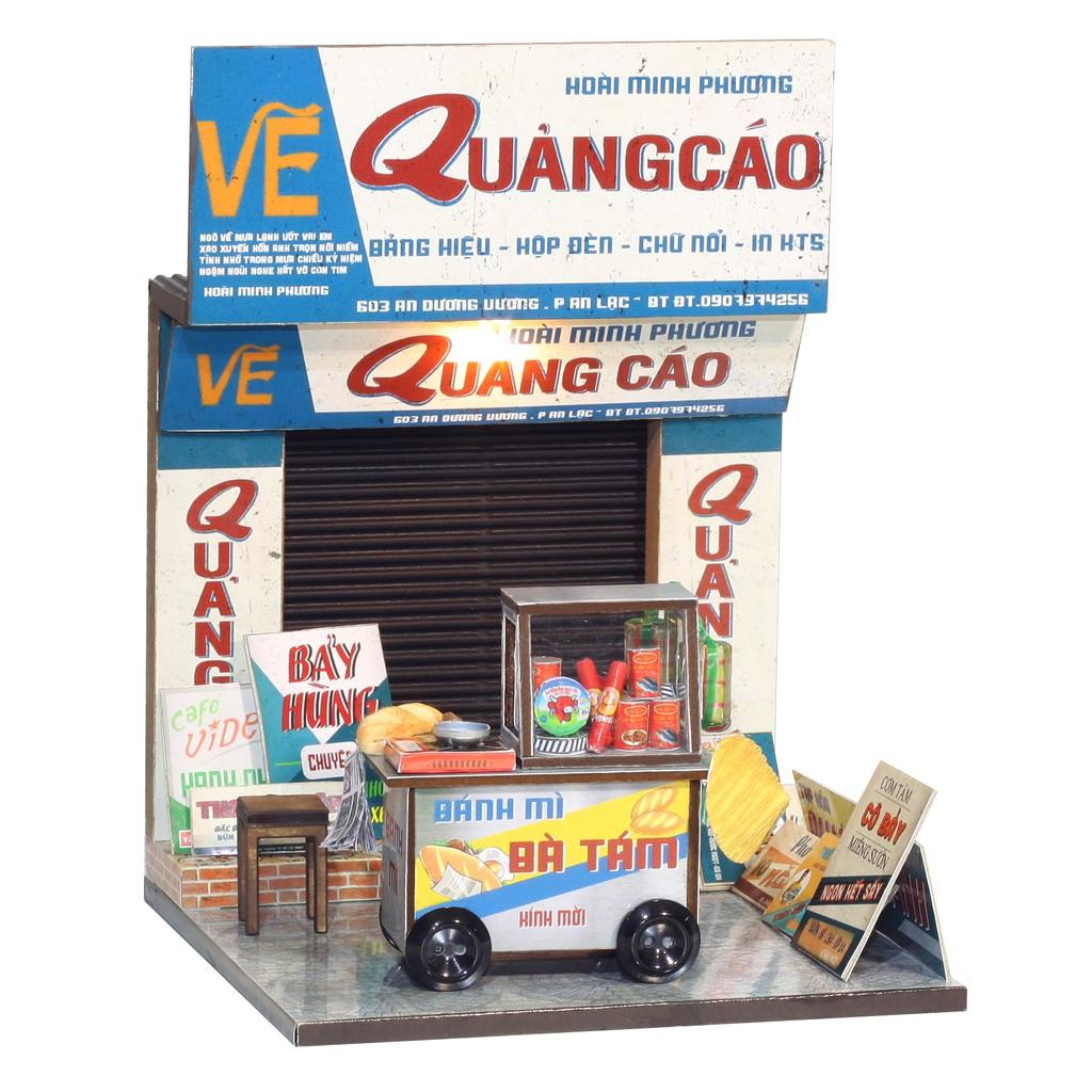 Mô Hình Gỗ DIY – Thế Giới Tí Hon – Xe Bánh Mỳ AD02