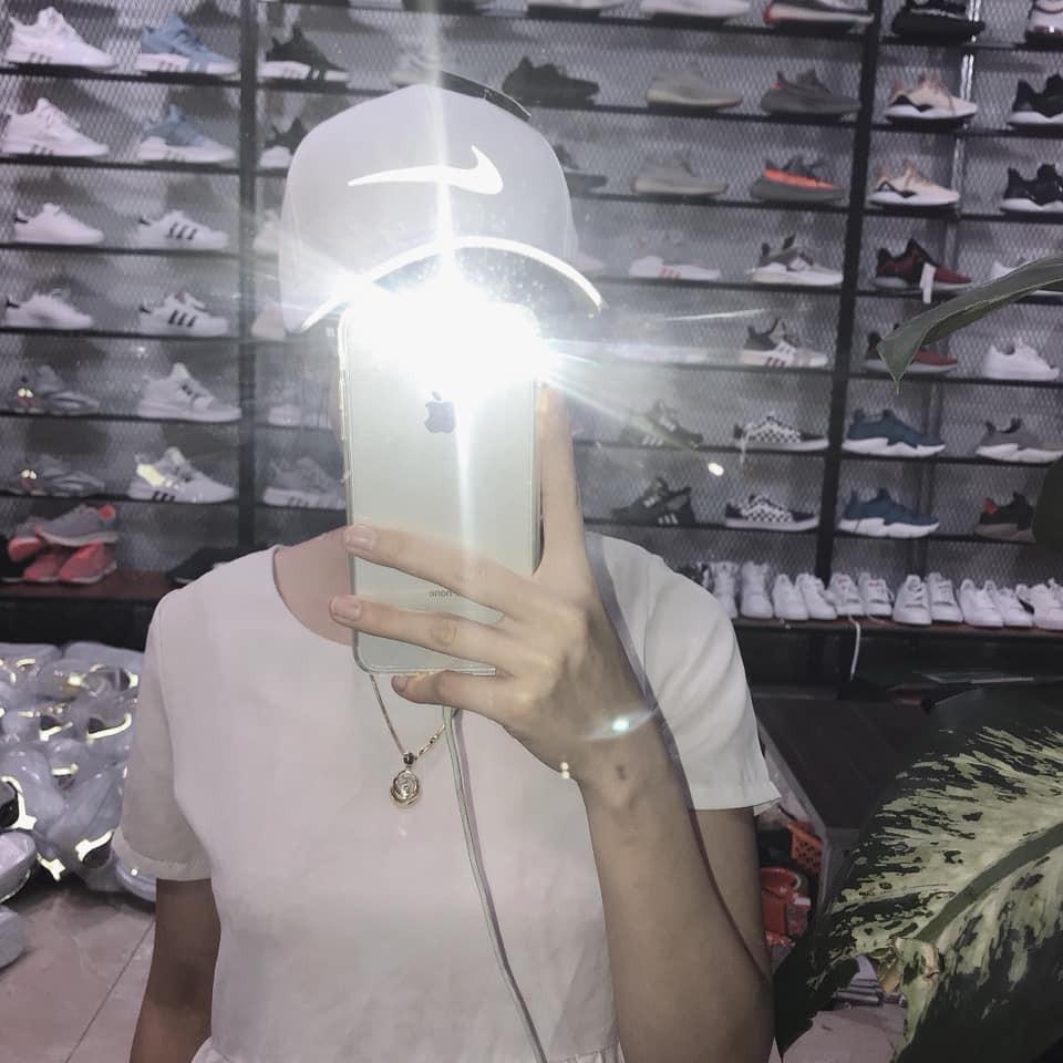 [ Thời trang cao cấp ] Mũ thời trang cao cấp logo phản quang Nike Mũ/Nón