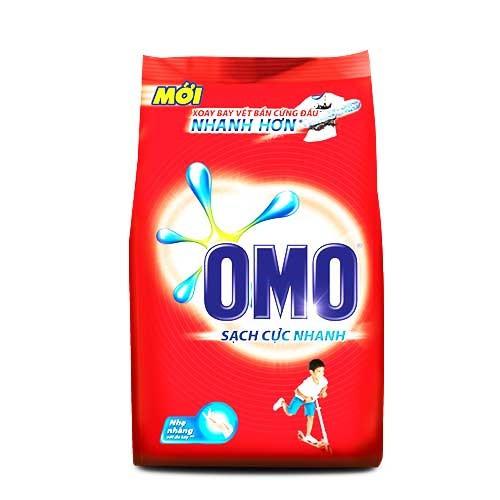 Bột giặt Omo Sạch cực nhanh 1.2 Kg- Chính Hãng