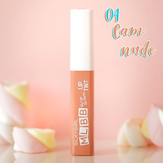Son Tint Silkygirl MLBB Lip Tint 4.5g . 04 Nude Cam Nude-4