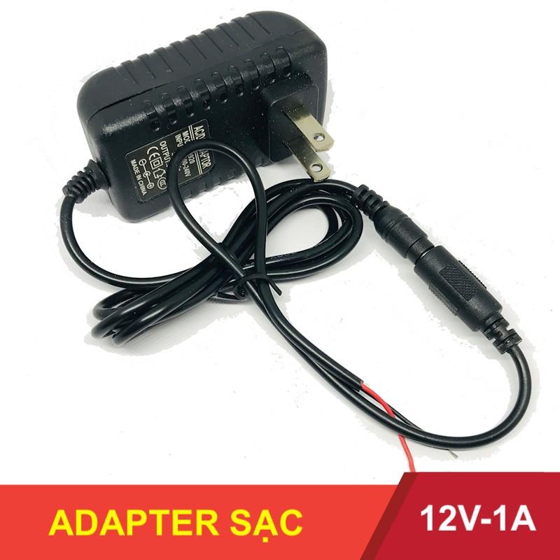 Nguồn Adapter sạc 12V-1A 9V-2A đầu kết nối 2.1mm x 5.5mm - LK0036
