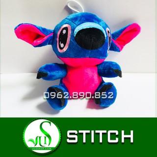 Gấu bông stitch kute size 20cm – stitch xanh