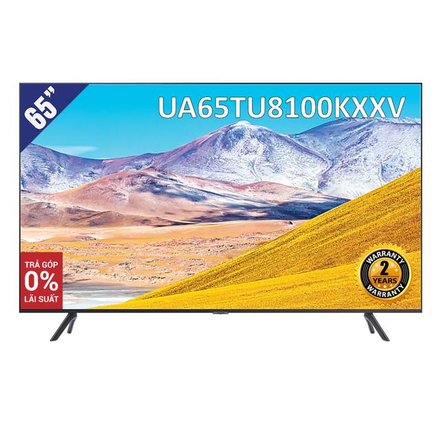 [Giao hàng tại TP.HCM] Smart Tivi 4K UHD Samsung 65 inch UA65TU8100KXXV