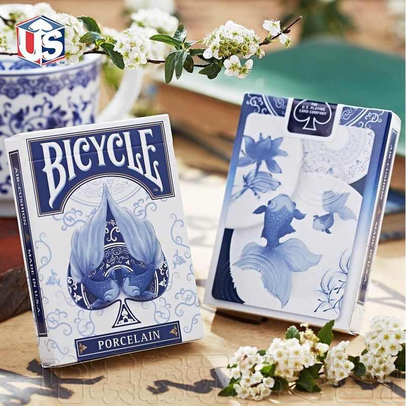 Bài ảo thuật CAO CẤP CHÍNH HÃNG USA Porcelain Playing cards [ HÀNG MỸ ] – Bài Tây – Bài Poker – Bài biểu diễn (Mystery)