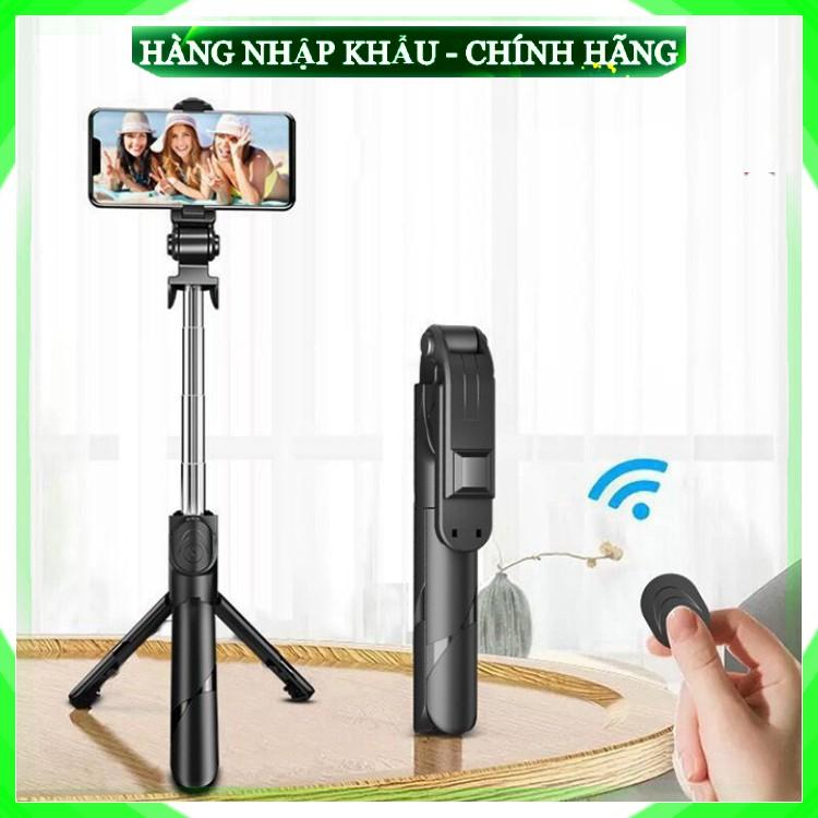 [Hàng Chuẩn Loại 1] Gậy Chụp Ảnh Tự Sướng 3in1 có Bluetooth ,3 Chân Đa Năng, Chụp Hình, Giá đỡ điện thoại livestream