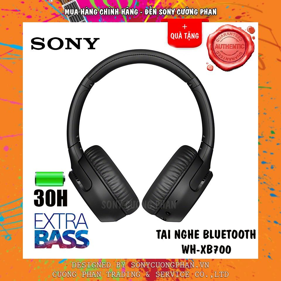 Tai Nghe Chụp Tai Bluetooth Sony Extra Bass WH-XB700 - Chính Hãng Sony Việt Nam - Bảo Hành 12 Tháng