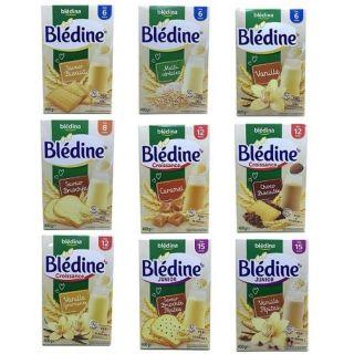 Bột lắc sữa Bledina 400g đủ vị cho bé từ 4m+ thumbnail