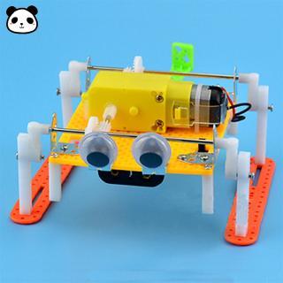 DIY Walking Robot Science Experiment Children Toy Robot