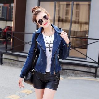 áo khoác jean nữ tay dài thời trang cá tính