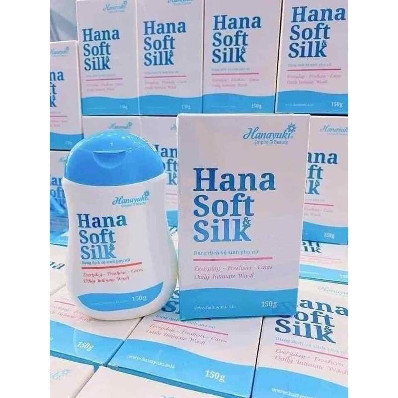 (Chính Hãng 100%) - Dung Dịch Vệ Sinh Phụ Nữ Hana Soft Silk