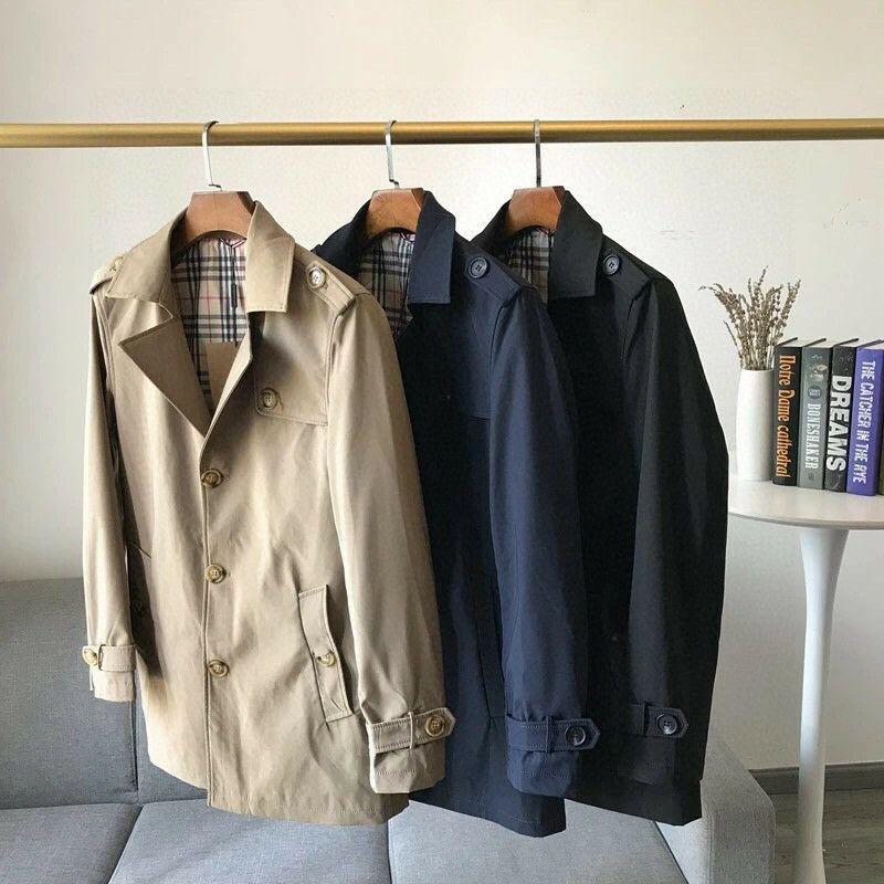 Áo khoác nam blazer dáng dài burberry  2021 bbr bur