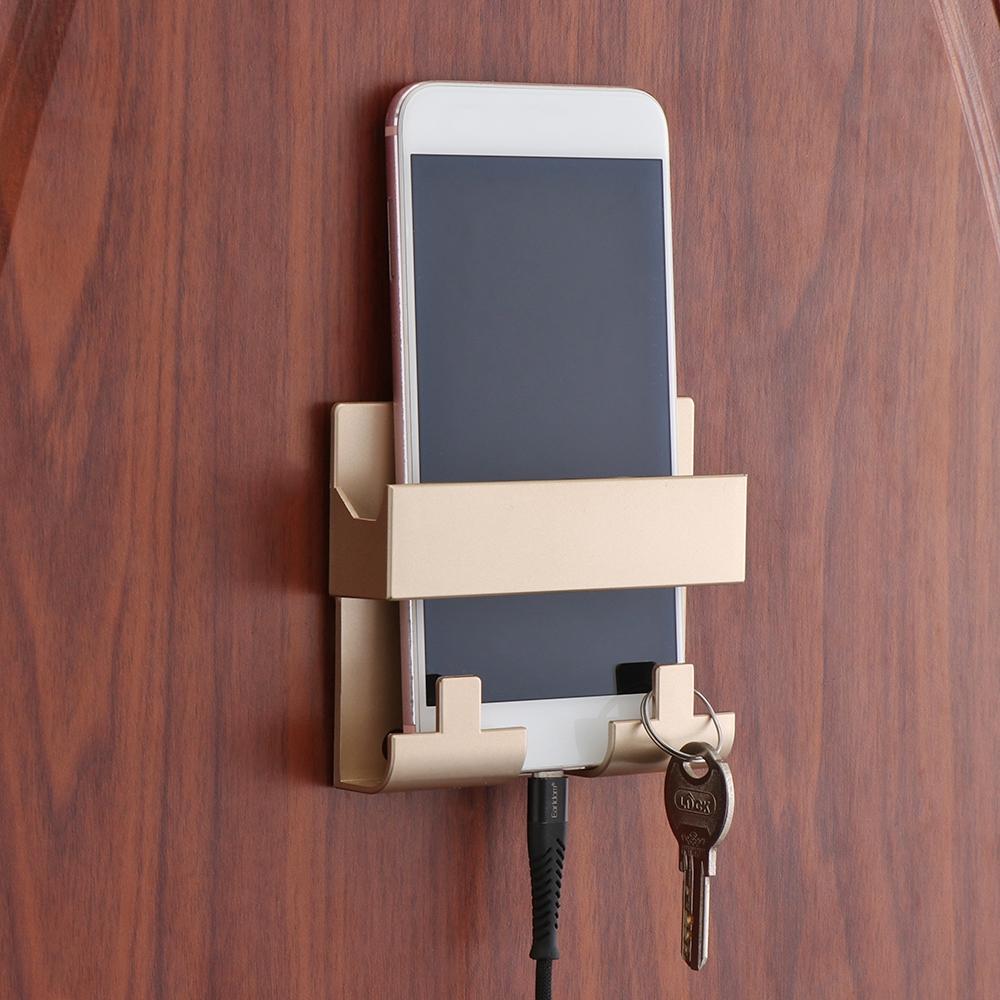 Giá đỡ điện thoại dán tường tiện lợi