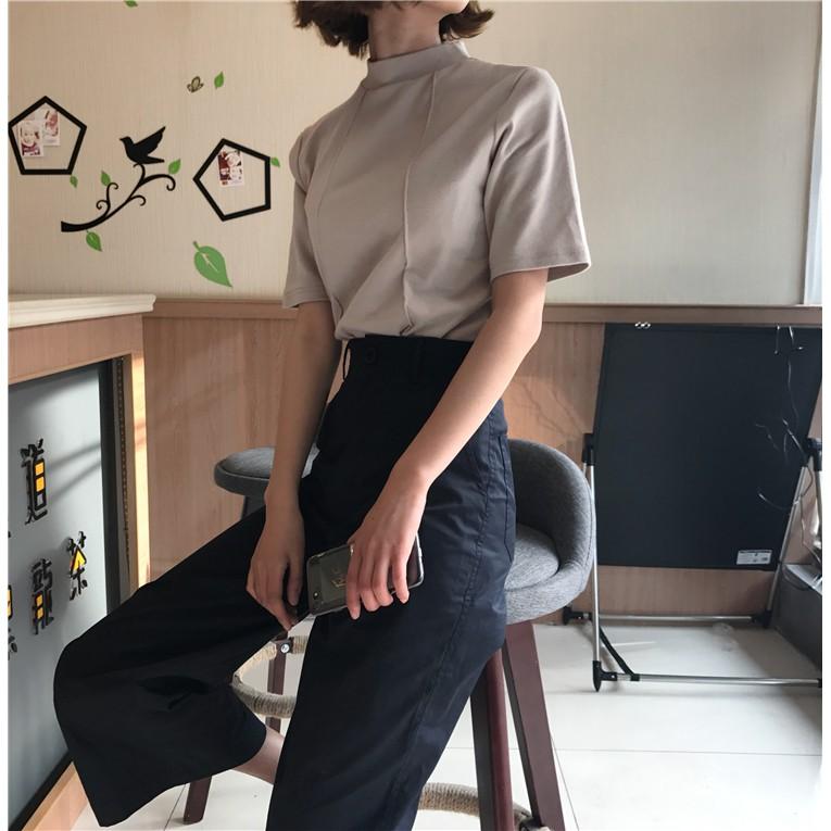 Áo phông viền gân