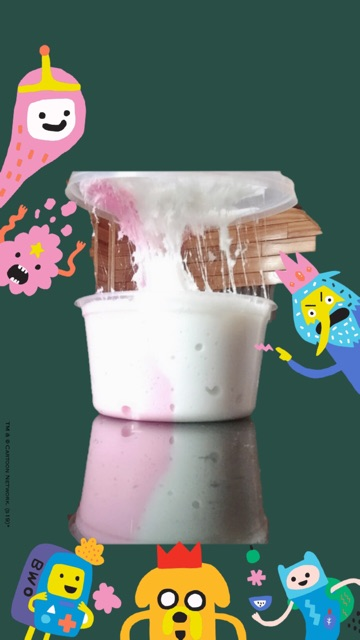 Slime kem dâu