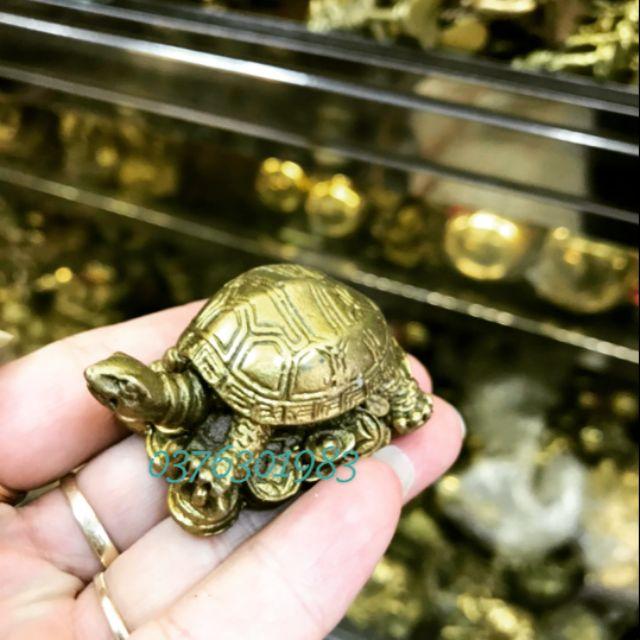 Rùa phong thủy bằng đồng thau