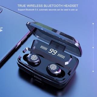 Tai Nghe Bluetooth 5.0 Tws 2000mah Kèm Phụ Kiện