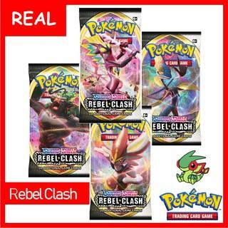 Thẻ Bài Pokemon TCG Booster Pack Rebel Clash – Chính Hãng, Mới Về – Sword Shield Series