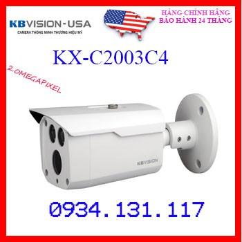 Camera 4 in 1 hồng ngoại 2.0 Megapixel KBVISION KX-C2003S5