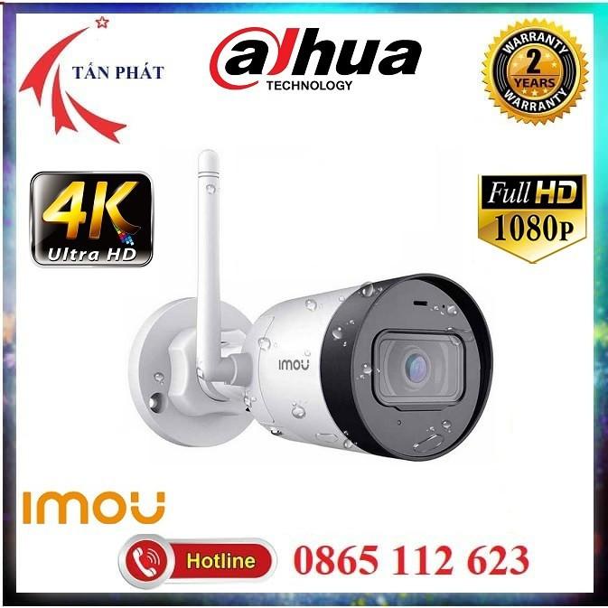 [Mã ELMS4 giảm 7% đơn 500K] Camera IP WiFi 2M 4M Ngoài Trời IMOU G22P G42P 1080P FullHD, 4K QHD Chính Hãng Dahua BH 24TH