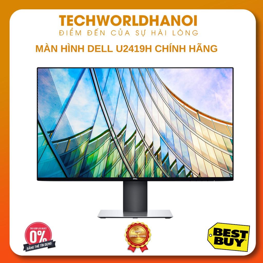 [Trả góp 0%] Màn Hình Dell U2419H 24inch FullHD 8ms 60Hz IPS - Hàng Chính Hãng