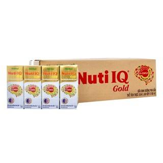 Thùng 48 Hôp Sữa Bột Pha Sẵn Nuti IQ Gold 180ml