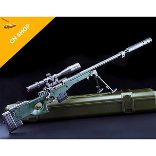 Mô hình PUBG Tạo hình nguyên mẫu M416/AWM/M24/K98/SKS có hộp nhựa kích thước 40-42cm