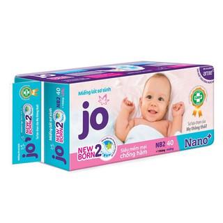 Bỉm Jo Newborn 2 gồm 40 miếng
