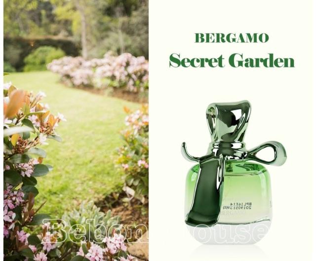 Nước hoa nữ Bergamo hương hoa cỏ, thảo mộc thiên nhiên Hàn Quốc