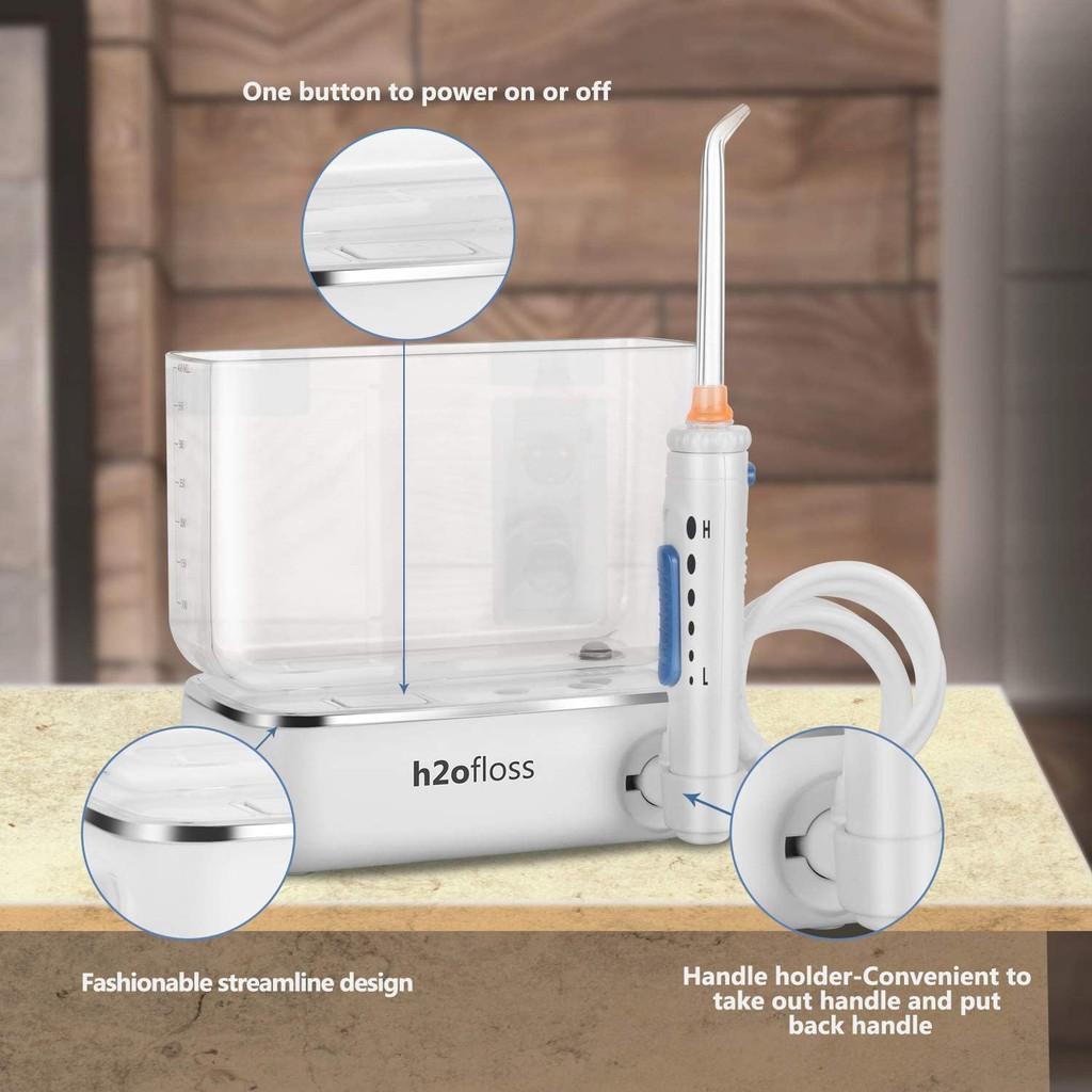 Máy tăm nước cầm tay H2OFLOSS HF-3 Premium, tăm nước du lịch HF3 chính hãng H2ofloss Việt Nam
